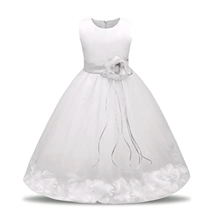 Amazon.com: HOT SALE!!0.5-7 Years Old Bridesmaid Pageant Tutu Tulle ...