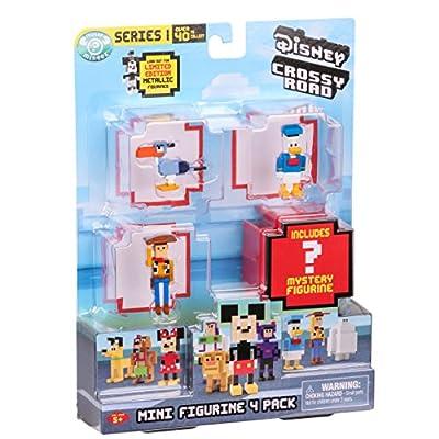Disney Crossy Road Mini Figures 4 Pk