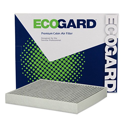 Audi Golf - ECOGARD XC10463C Cabin Air Filter with Activated Carbon Odor Eliminator - Premium Replacement Fits Volkswagen GTI, Golf / Audi A3 Quattro, A3 / Volkswagen Golf SportWagen / Audi S3