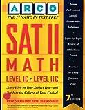 SAT II Math Level IC-IIC, Morris Bramson and Norman Levy, 0028603079