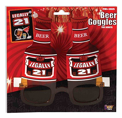 Legally 21 Beer Goggles Sunglasses