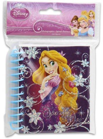 Disney Princess Fat Spiral Hologram Journal 48 pcs sku# 1859050MA