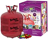 Toys : Blue Ribbon Balloon Time Disposable Helium Tank 14.9 cu.ft - 50 Balloons and Ribbon Included