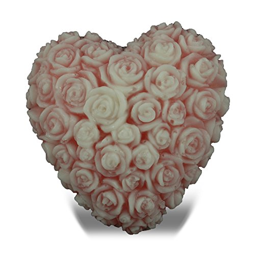 (Heart of Roses Shaped Soap)