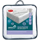 Tontine Comfortech Quilted Waterproof Mattress Protector, Double