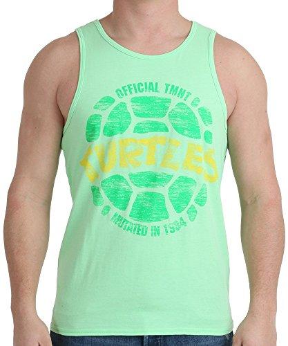 Tmnt Neon Shell Tank Shirt Small Green]()