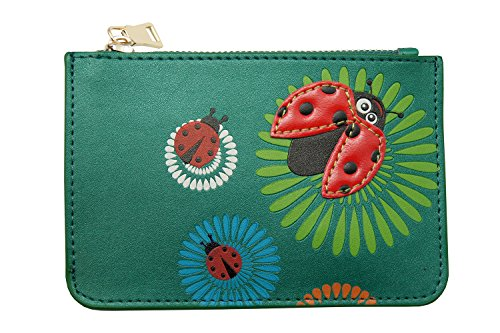 Zipper Key Wallet - Coin Purse - with colorful design, unique and. Menkai brand