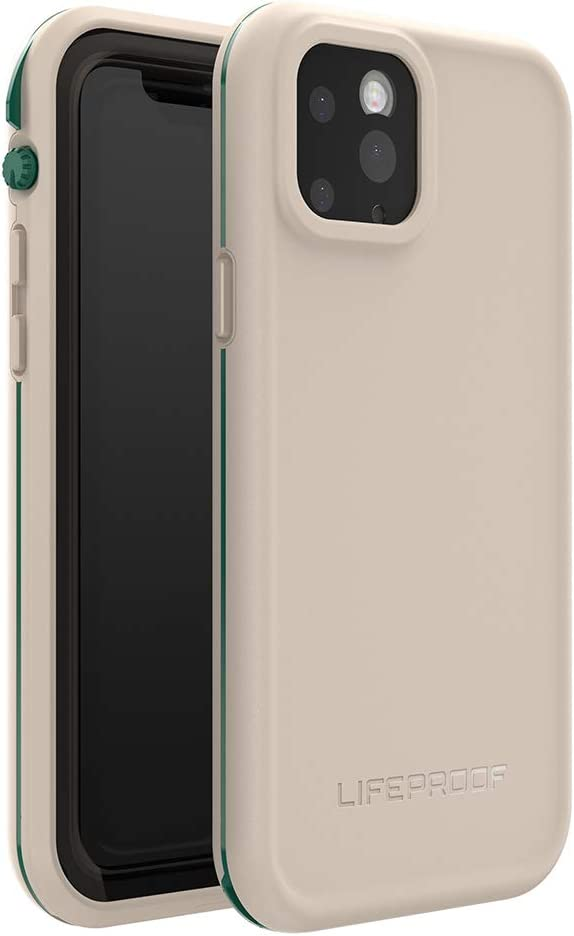 LifeProof FRE SERIES Waterproof Case for iPhone 11 Pro - CHALK IT UP (EVERGLADE/CHATEAU GRAY)