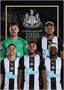 A3 420mm x 297mm Newcastle United Official 2021 Soccer Calendar