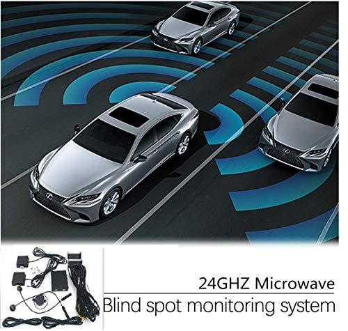 (CarBest New Radar Based Blind Spot Sensor and Rear Cross Traffic Alert System, BSD, BSM, 24GHZ Microwave Radar Blind Spot Detection System)