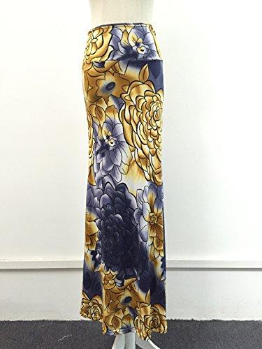 Noir vase Femme Noir QIYUSHOW Jupe Jaune wa1YxFFIq