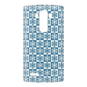 Loud Universe LG G4 Print 3D Wrap Around Case - Blue/White
