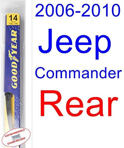 jeep commander windshield wiper - 9