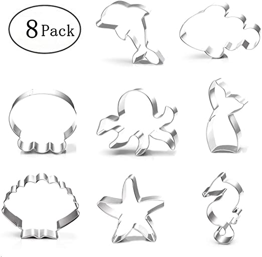 Octopus Stainless Steel Cookie Cutter Fondant Biscuit Moulds Cake decor too FLA