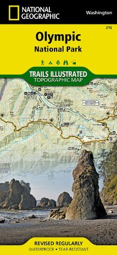 Download By National Geographic Maps - Trails Illustrated - Olympic National Park (National Geographic: Trails Illustrated Map #216) (Ti - National Parks) (12.2.2000) PDF