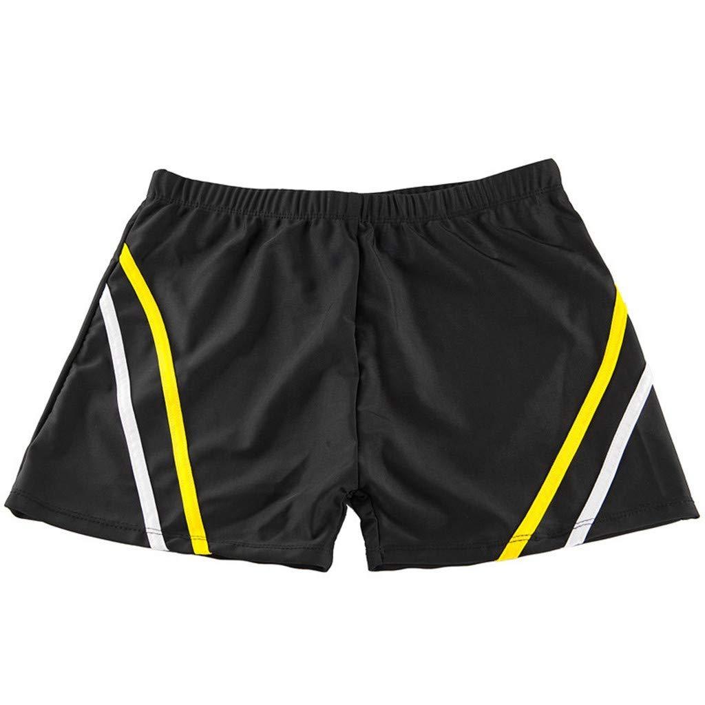 Ronamick Summer Men's Shorts Fashion Print Swim Shorts Beachwear Surf Boxer Swim Shorts