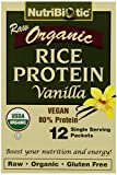 Nutribiotic Vegan Rice Protein Vanilla, 12/.53 oz. Pkts For Sale