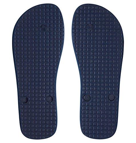 White Navy D0303272 Shoes 1 Mens para Spray Shoe Chanclas DC de caucho Blue hombre nqxHAOwn