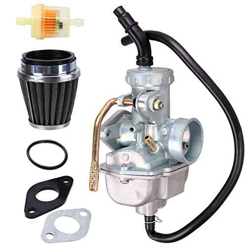 New PZ20 Carburetor +35MM Air Fuel Filter for Kazuma Baja 50cc 70cc 90cc 110cc 125cc TaoTao 110B NST SunL Chinese Quad 4 stroke ATV 4 wheeler Go kart Dirt Bike Honda CRF50F XL75 CRF80F XR50R