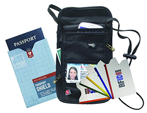 travel-wallet-money-belt-lewis-n-clark-rfid-neck-stash-black-1-rfid-passport-shield-and-5-credit-car
