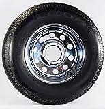 Trailer Wheel & Tire 380 ST225/75R15 225/75 R 15'' LRD 6 Bolt Hole Modular Chrome
