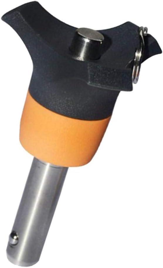Edelstahl Kugelsperrbolzen /Φ 8 mm Steckbolzen Klemml/änge Optional 45mm