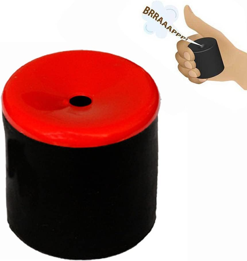 Red MODAO Hand Held Sound Machine Fart Tooter Farting Create Farting Sounds Fart Pooter Gag Joke Machine Party