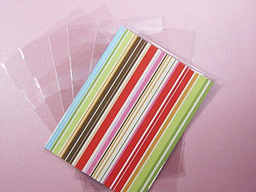 5 7/16 x 7 1/4 Resealable Clear Cellophane Set of 100