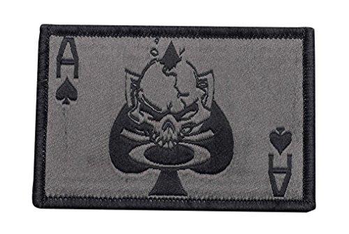 Oakley Men's SI Death Card Velcro Patch, 2