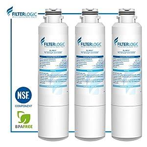 FilterLogic DA29-00020B Refrigerator Water Filter Replacement for Samsung DA29-00020B, DA29-00020A, HAF-CIN/EXP, 46-9101 (Pack of 3)