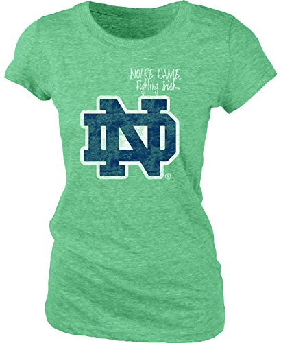 NCAA Mississippi Old Miss Rebels Women's Tri-Blend Tee, Irish Green, Small (Mississippi Rebels Ncaa Tee)