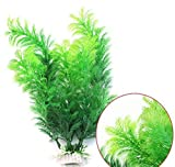 Bookear 2018 New Water Plants for Fish Tank Aquarium Decor Ornament Decoration Plastic Submarine (Green)