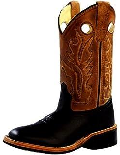 1937 1936 Old West Boys Saddle Vamp Western Boot
