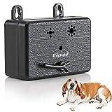 Vicvol Upgrade Mini Bark Control Device, Outdoor Anti Barking Ultrasonic Dog Bark Control