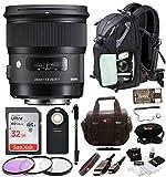 camper rucksack - Sigma 24mm f/1.4 DG HSM Art Lens for Canon EF w/ Sling Backpack & 32GB SD Bundle