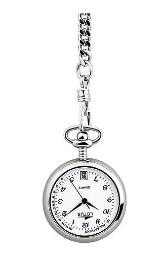 LOTUS NURSE 7900/1 RELOJ DE BOLSILLO DE ENFERMERA NUEVO GARANTIA 2 AÑOS: Amazon.es: Relojes