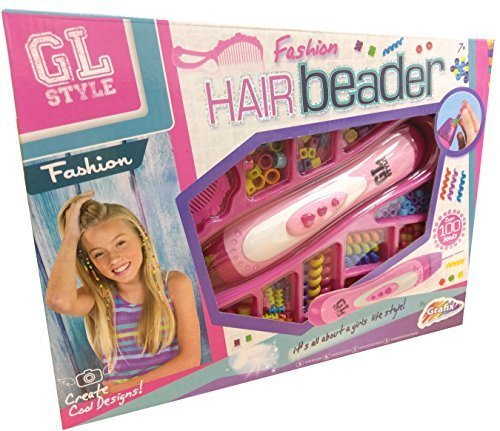 GL style Filles Mode Cheveux Perle /& PERLES KIT
