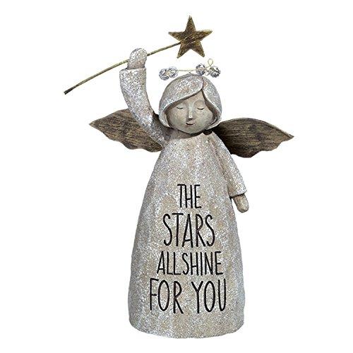 (Grasslands Road Garden Angel Figurine (The Stars All Shine For You))