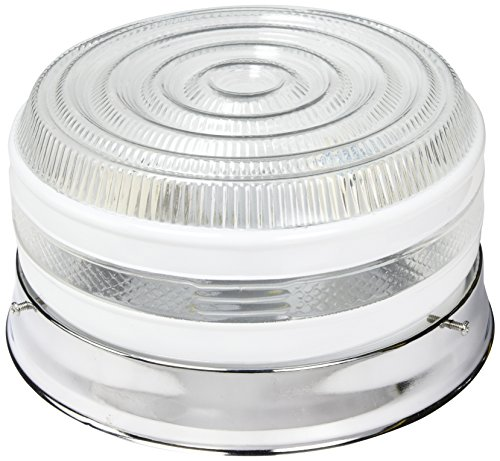 Boston Harbor F14CH02-80023L 1-Light Flush Ceiling Fixture, Chrome (Chrome Ceiling Fixture)