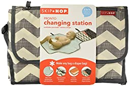 Skip Hop Pronto Signature Portable Changing Mat Station, Chevron