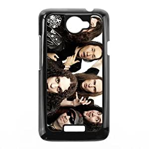 HTC One X Cell Phone Case Covers Black DragonForce K5D4H