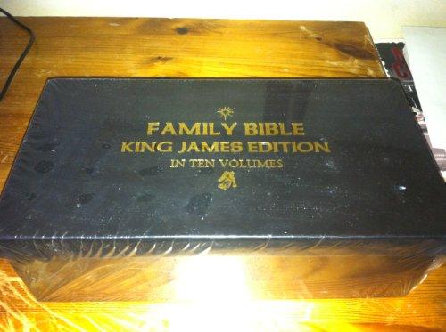 Family Bible King James Edition in Ten Volumes (Bath Classics)