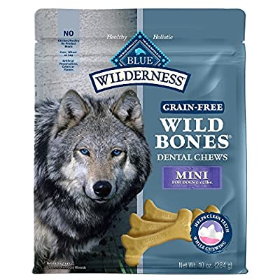 BLUE Wilderness Wild Bones Grain Free Dental Chews