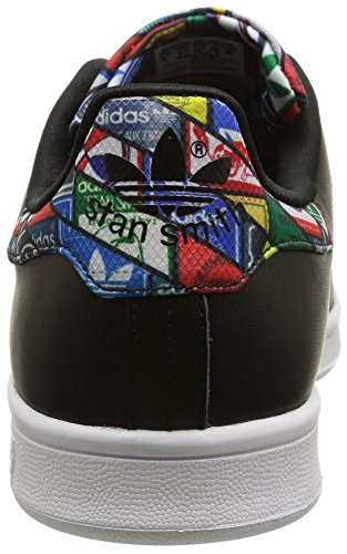 adidas Stan Smith, Zapatillas B24706-Hombre Unisex Negro/Blanco  (Core Black/Core Black/Ftwr White)