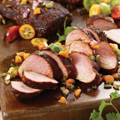 Omaha Steaks Smoke Lover's Pork Duo - Baby Back Ribs Pork Or Beef