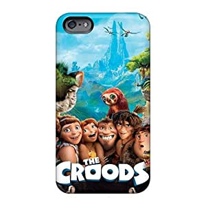 Protector Hard Cell-phone Cases For Iphone 6 (gTG6579UjIO) Provide Private Custom Lifelike The Croods Image