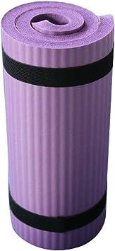 Imagen deEstera Yoga, Antideslizante Suave Ejercer Alfombra - Plegable Gimnasia Pilates Cojín - Perder Peso Equipamiento Deportivo - para Principiante