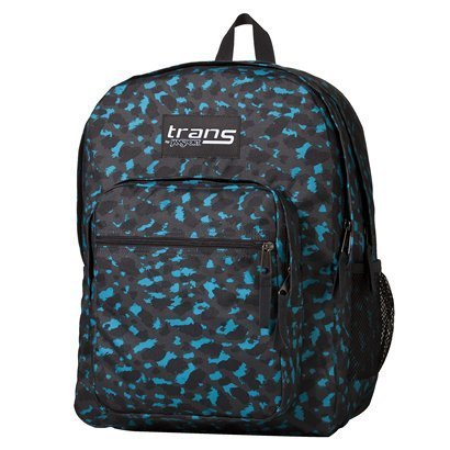 Jansport Supermax Backpack – Forge Grey/Cabesa Blue Shadow, Outdoor Stuffs