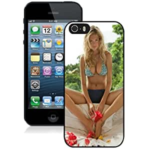 Beautiful Custom Designed Cover Case For iPhone 5s With Kate Upton Bikini Phone Case Kimberly Kurzendoerfer