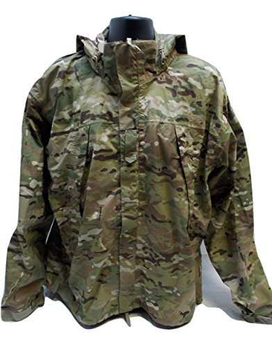 ARMY OCP MULTICAM COLD/WET WEATHER JACKET LEVEL 6 GEN III LARGE/REGULAR 8415-01-580-2854 (Best Wet Weather Jacket)